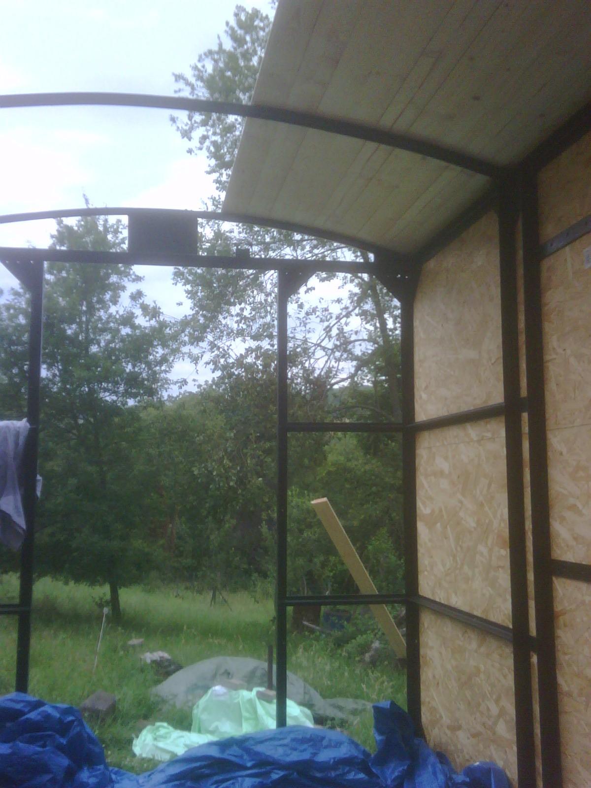 Aufbau des Daches